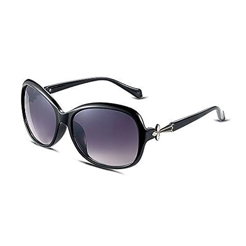 Lunettes de soleil protégeant du vent en plein air/ cadre de dame blanche/ lunettes de soleil