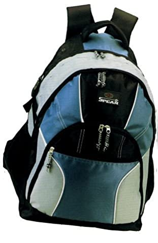 Rucksack, Spear With Mobile Phone Compartment Cable Tunnel Organizer in 4 Colours Approx. 42 x 50 x 31 cm