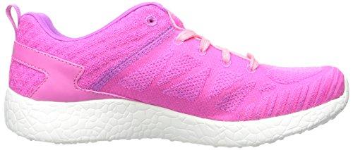 Skechers - Burst Ellipse, Sneaker Bambina Hot Pink/Coral
