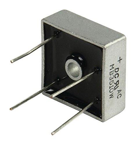 DC Components Brückengleichrichter Quadratisch Draht, Brückengleichrichter ECK Spannung:1000 Volt Strom:35A (973977010058) - Brückengleichrichter Spannung