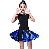 Vestito da Ballo Latino per Ragazze Rumba Samba Sala da Ballo Dancewear  Stage Performance Competition Costume c59dac3ba6ac
