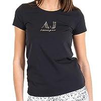 Armani Jeans Round Neck T-Shirt For Women Black