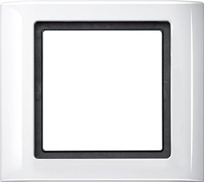 Merten 400119 AQUADESIGN-Rahmen, 1fach, polarweiß von Merten bei Lampenhans.de