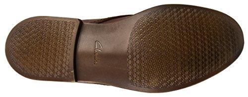 Clarks - Novato Mid, Stivali Uomo Marrone (Brown Leather)