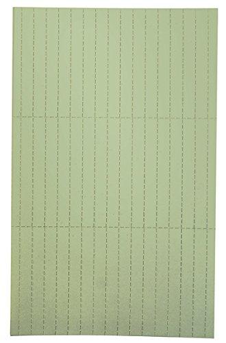 Legamaster 7-455404 Einlegeetiketten für Legamaster Etikettenträger, perforiert, 90 Stück, 20 x 60 mm, grün
