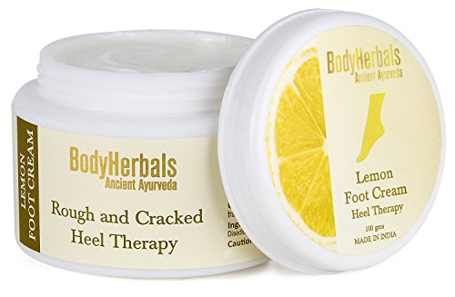 BodyHerbals Lemon Foot Cream, For Rough & Cracked Heel (100g), Health & Personal Care, Foot Care, Foot Cream.