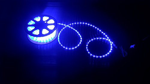 Tubo led luminoso mt per esterno bleu blu luci natale addobbi
