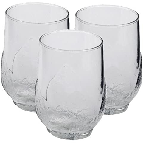 Luminarc Aspen - Set di 3 bicchieri highball, 33 cl