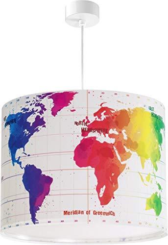 Dalber Map - Lámpara colgante Mapa