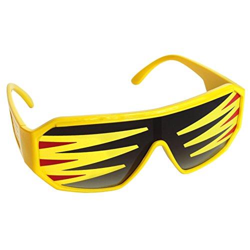 Unbekannt Sonnenbrille Yellow Slim Jim Side Spike Square