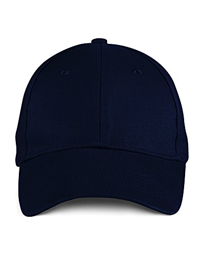 Anvil Anvil brushed twill cap Navy - Brushed Twill Cap