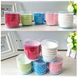 Maxeon 100 Pcs Greaseproof Paper Cake Cups Liners Muffin Cake Cupcake Cases Fashion Baking Accessory