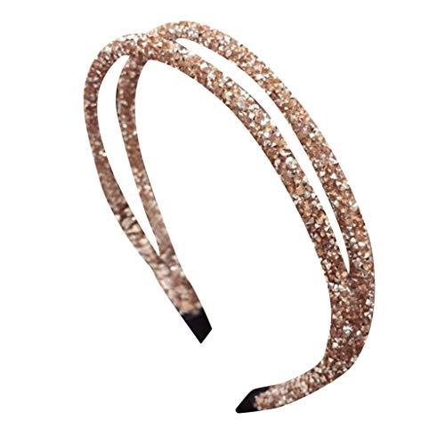 l Kristall Strass Abendessen Stirnband Handgefertigt Braut Hochzeit Party Haarschmuck MäDchen Elegant Haarband ()