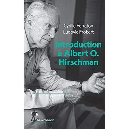 Introduction à Albert O. Hirschman