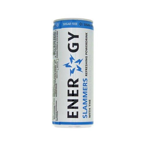 Slammers Energy Drink Sugarfree 96 x 0,25l Dose XXL-Paket (Zuckerfrei, Light) (Energy-drink-pakete)