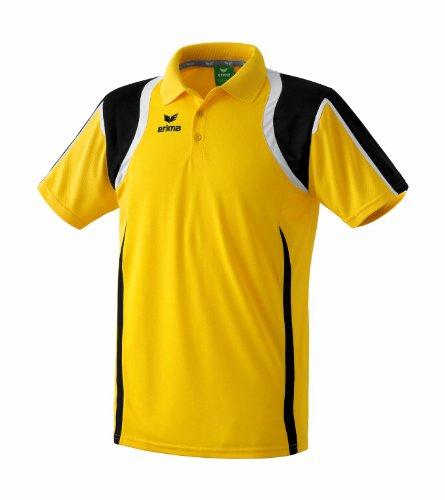 erima Kinder Poloshirt Razor gelb/schwarz/weiß