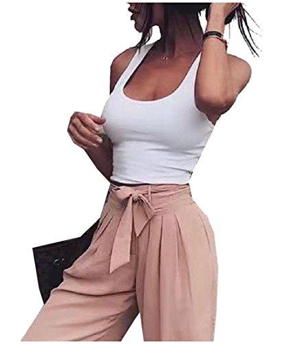 Tootlessly-Women Damen Bluse Gr. Large, weiß -