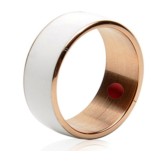 Jakcom R3F Smart NFC Multifunctional Ring 2016 for Android and Windows Phones, Weiß, size 10