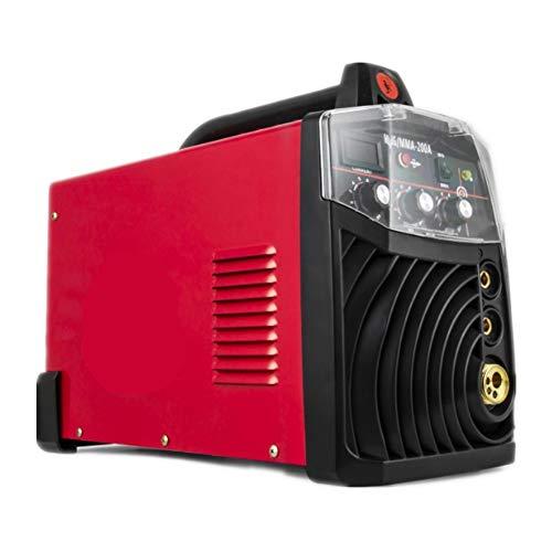 Professionelle Schweißgeräte Schweißer MIG-200 Multifunktionsschweißgerät 220V MIG MMA Schweißgeräte Tragbare Schweißgeräte (Dual Voltage-pinsel)