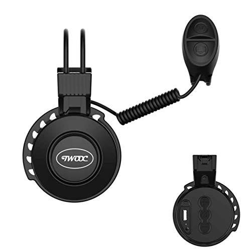 CHIYEEE Fahrradklingel USB Wiederaufladbar Wasserdichte Elektro-Fahrrad Bell Elektronisches Lenker Bell Ring für Mountainbike 50-100dB