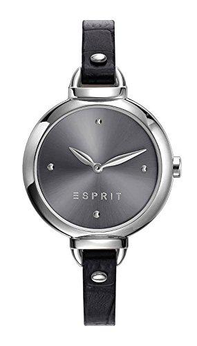 Esprit Damen Analog Quarz Uhr mit Leder Armband ES109522001