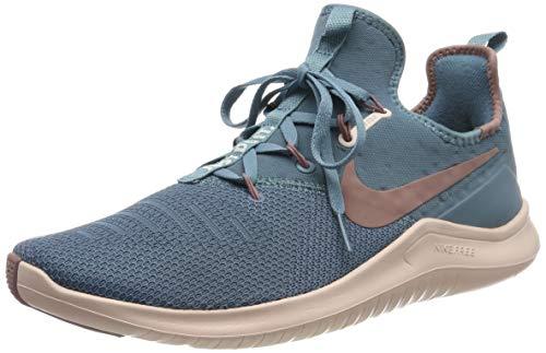 Nike Damen WMNS Free Tr 8-942888 Fitnessschuhe ,Mehrfarbig (Celestial Teal/Smokey Mauve 452), 36.5 EU Celestial 8