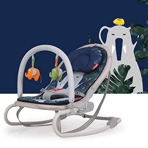 Rocking chair Chaise à Bascule Health UK bébé, Coussin Pliable pour l'hiver et l'été Peut Nettoyer Le Berceau Multifonction
