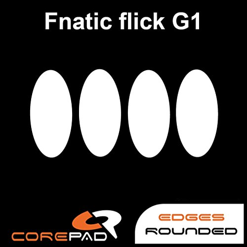 Corepad Skatez PRO 126 Ersatz Mausfüße Replacement Mouse Feet Fnatic flick G1