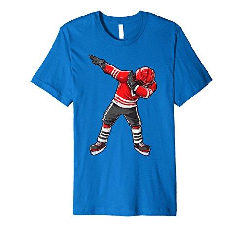 Sanftes Eishockey T Shirt Funny DAB Squad Jungen Kinder Geschenke
