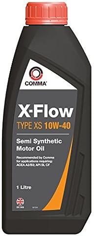 Comma XFXS1L X-Flow Type Xs 10W40 Oil, 1 Liter