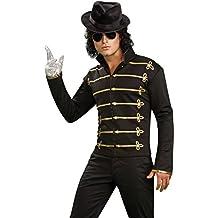 Rubie's - Disfraz de Americana Impresa Michael Jackson, talla XL (889329-XL)