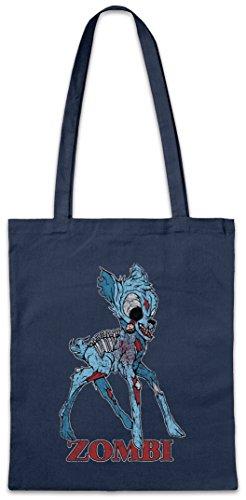 Urban Backwoods Zombi II Hipster Bag Beutel Stofftasche Einkaufstasche