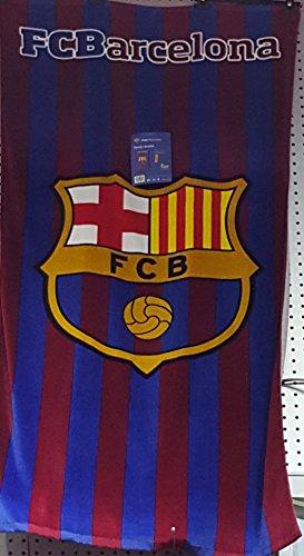 287| TOALLA DEL BARÇA FC Barcelona FCB PISCINA O PLAYA 100 X 75 CM