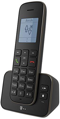 Telekom Erweiterungspack Sinus 207 Pack schwarz, Mobilteil und Ladeschale