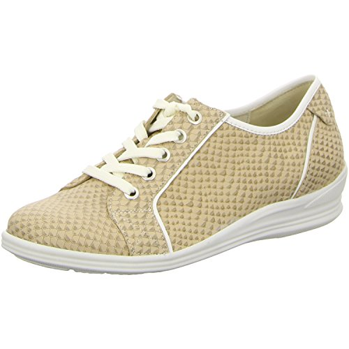 Waldläufer 326003-683-041 Hasta femme chaussures largeur H muskat/weiss