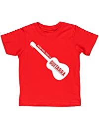 HippoWarehouse Nacido Para Tocar La Guitarra (Acústica) camiseta manga corta niños niñas unisex