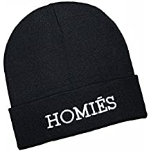 New Homies Mütze mit Stickerei schwarz