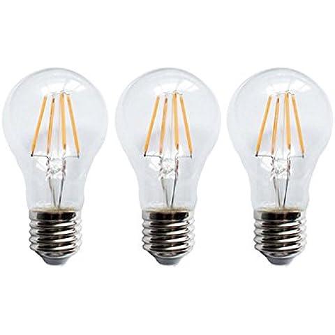 Bombillas Filamento LED 6W A60 - x3