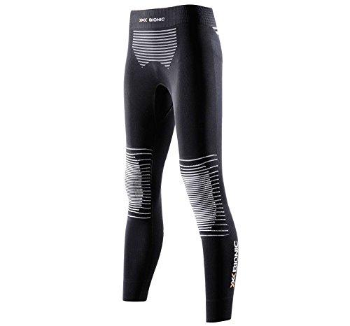 X-Bionic Lady Energizer Mk2 Uw Pants Long, Donna, Nero/Bianco, XS