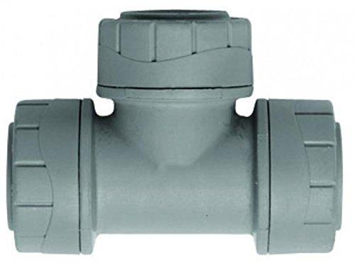 Push-fit Pipe Fittings (Polyplumb 15mm Equal Tee - PB215 by Polyplumb)