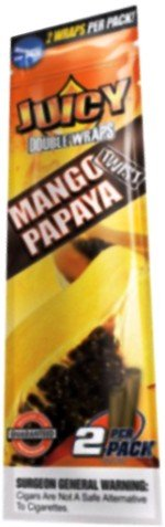 juicy-double-wraps-5-packets-x-2-cigar-wraps-in-various-different-flavors-sold-by-trendz-mango-papay