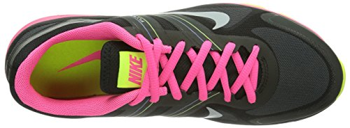 Nike - Dual Fusion TR 2, Scarpe Da Ginnastica da Donna Nero (Schwarz (Black/Metallic Platinum-Hyper Pink-Volt))