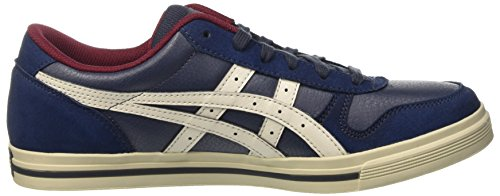 Asics Herren Aaron Gymnastik Blau (India Ink/Off White)