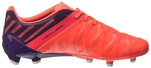 Umbro Medusæ II Pro HG, Chaussures de Football Homme Rouge (Winter Bloom / White / Fiery Coral)