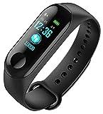 Aerizo RGE-3 Ultra Smart Fitness Watch Band | Sport Activity Tracker Heart-Rate/Blood Pressure/Pedometer