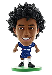 SoccerStarz- Figura de acción William-Chelsea, Color Verde (1)