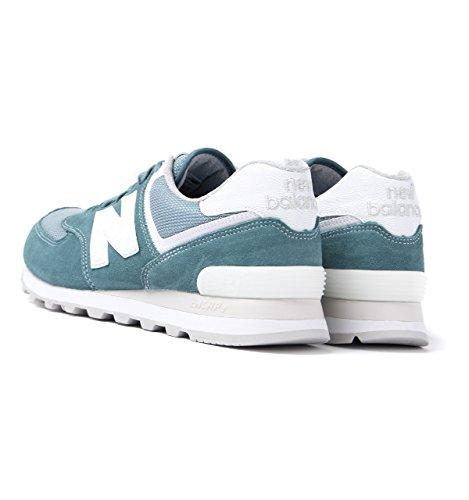New Balance 574, Sneaker Uomo citadel-grey-white (ML574SEG)