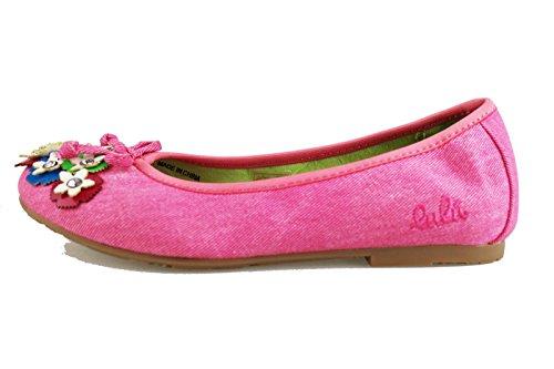 scarpe bambina LULU' ballerine tela (EU 33, Rosa)