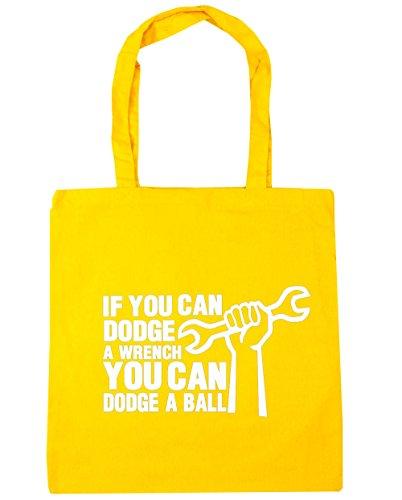 hippowarehouse-si-puedes-dodge-una-llave-puede-dodge-una-bola-bolsa-de-compras-bolsa-de-playa-42cm-x