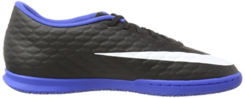 Nike Hypervenomx Phade Iii Ic, Chaussures de Football Homme Noir (Black/Black-Game Royal)